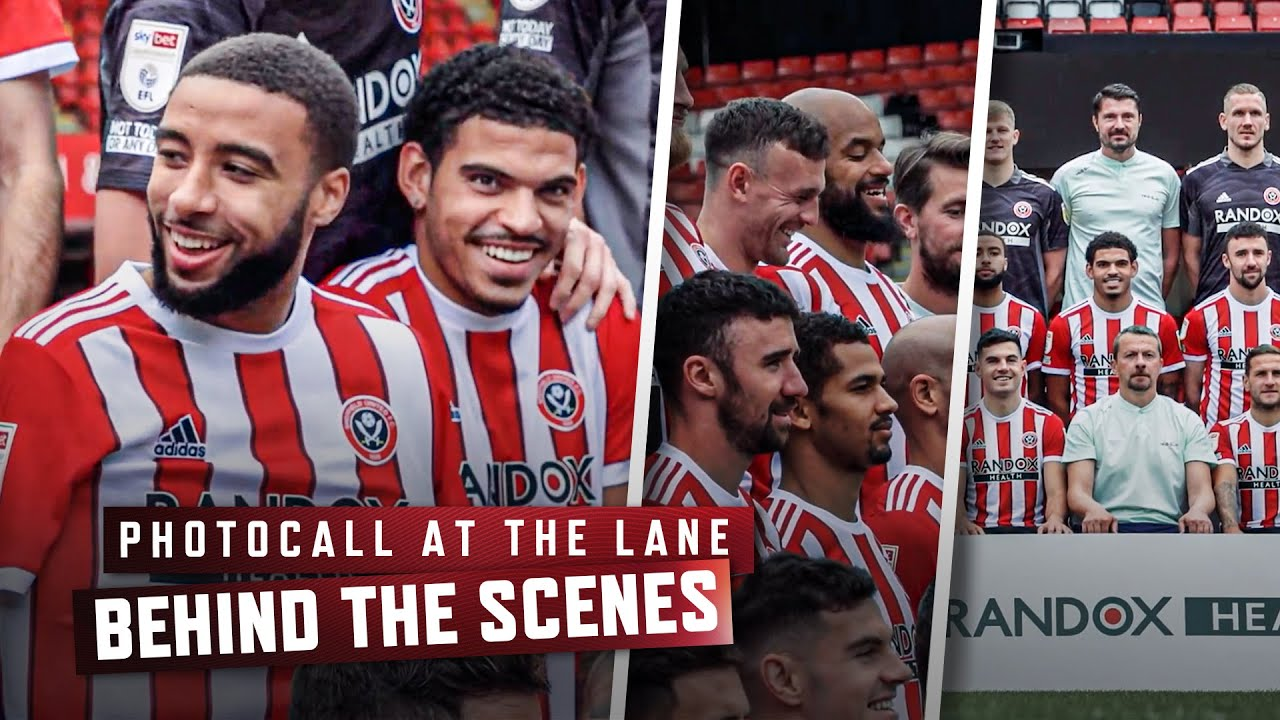 Behind The Scenes   Sheffield United First Team Photocall at Bramall Lane 📸