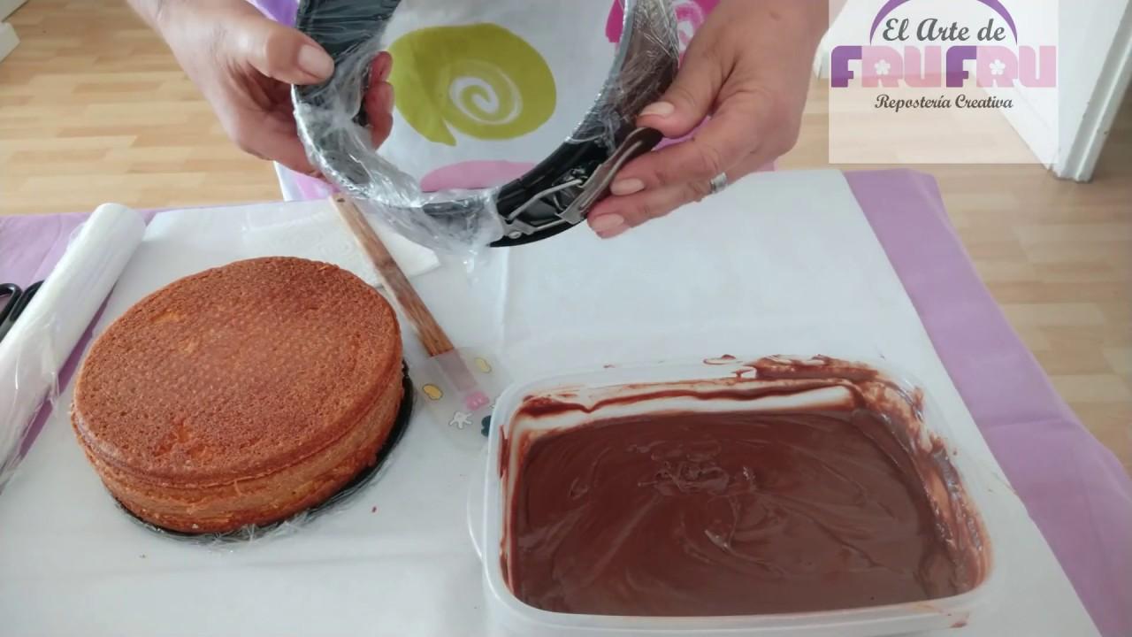 Como rellenar una tarta en su mismo molde