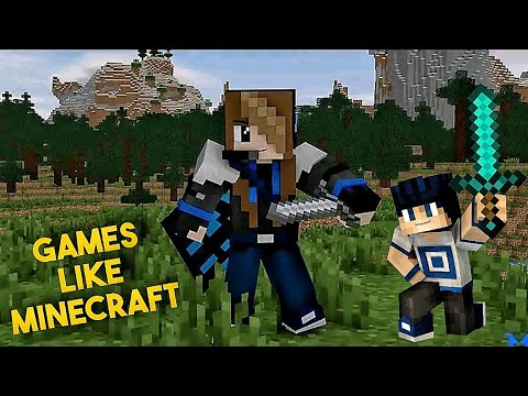 Top 10 Games Like Minecraft For Android   Games Under 100MB (Offline)