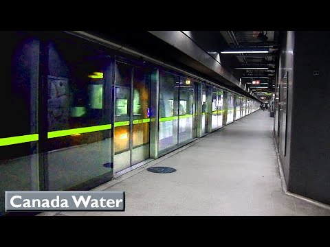 London Underground : Canada Water | Jubilee line ( 1996 Tube Stock )