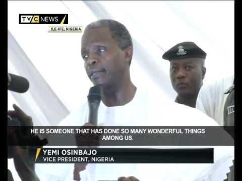 The Burial Of Ooni Of Ife, Oba Okunade Sijuade