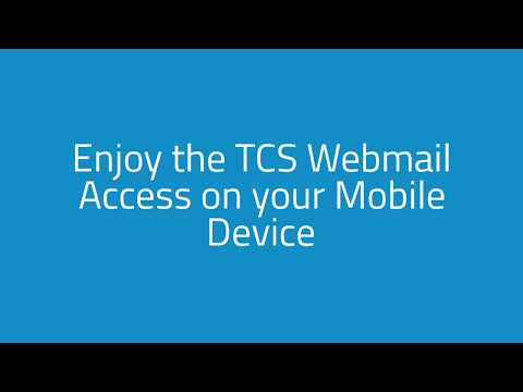 TCS Webmail Guide.