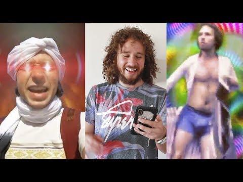 Reacciono a video-memes OSCUROS que hacen de mí | Momazos