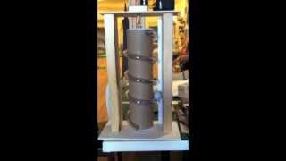 Archimedes' Screw Ball Lift Prototype #1