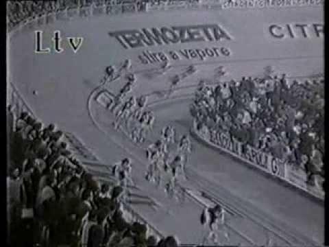 CICLISMO SU PISTA Sei giorni di Milano 1977
