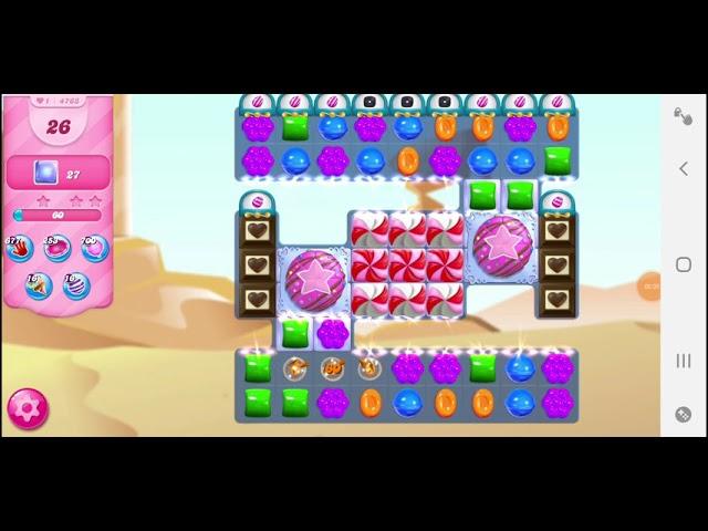 Candy Crush Saga niveau 4763