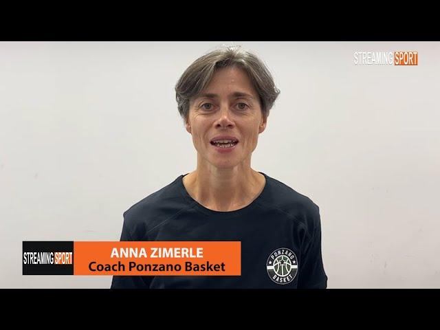 La nuova allenatrice del Ponzano Basket Anna Zimerle 21 agosto 2021