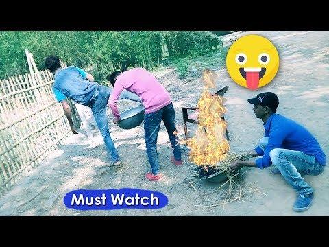 Must Watch New Funny Comedy Videos 2019 😂 😂 - Episode 30, Desi Funny Video Bindas Boys