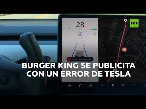 Burger King aprovecha la confusión de los coches Tesla | RT Play