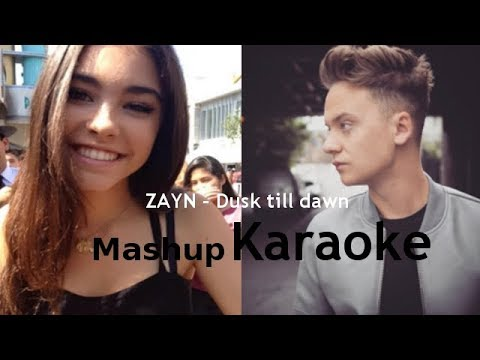 ZAYN - Dusk Till Dawn | Mashup Karaoke - Conor Maynard ft. Madison Beer