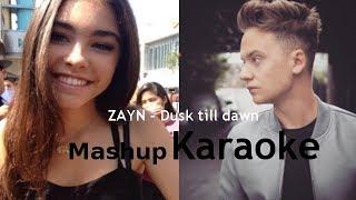 ZAYN - Dusk Till Dawn | Mashup Karaoke - Conor Maynard ft. Madison Beer