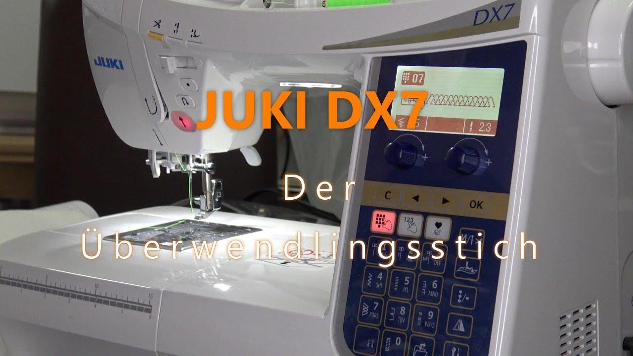Download Juki HZL DX7 - Überwendlingsstich