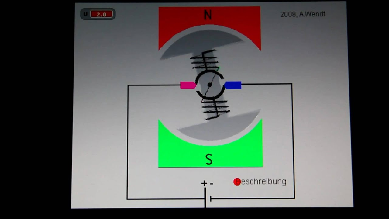 Gleichstrommotor ( ) - YouTube