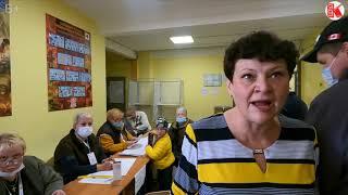 Неуравновешенный председатель УИК 2370 Подольск - на защите Единой России.