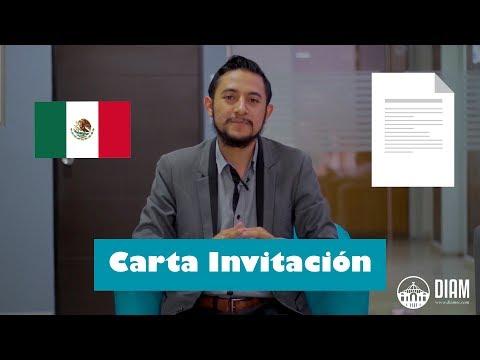 Carta Invitación para ingresar a México: explicación y datos para redactarla correctamente