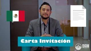 ¿Cómo hacer una Carta Invitación para ingresar a México?