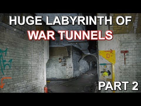 HUGE LABYRINTH OF WAR TUNNELS - Shorts Brother Underground WW2 Shadow Factory - Part 2