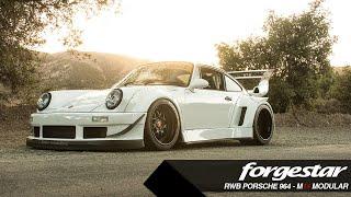 Forgestar presents Rauh Welt Porsche 964 with our new modular multipiece M14 Wheels