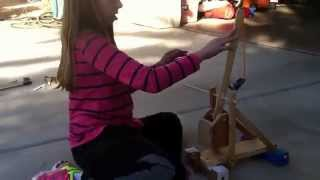 Ella's Trebuchet (using A Hila Trebuchet Design)
