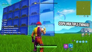 How to COPY MULTIPLE THINGS IN CREATIVE MODE! (EASY)