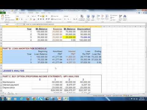 Lease-Buy Analysis Ex1 - Pat Obi