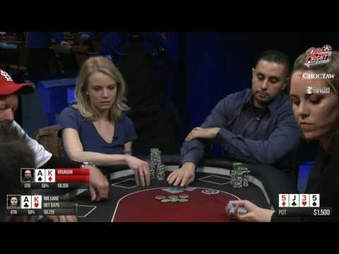 Poker Night in America - Live Stream - 04-22-16 - Part 1 of 4 - Choctaw Casino Resort - Durant, OK - 동영상