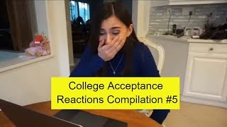 College Acceptance Reactions Compilation 2018 #5