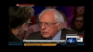 Bernie Sanders calls Chris Christie a Coward!
