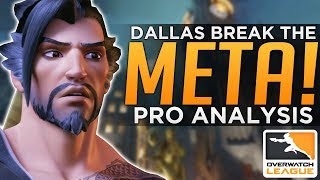 Overwatch: Dallas Fuel Break The META! - Crazy PRO Team Comps