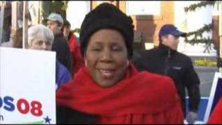 Congresswoman Sheila Jackson Lee Visits the NH Primary