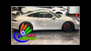 Photos: Ian Poulter shows off new Porsche GT3