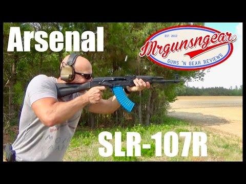Arsenal SLR-107R Bulgarian AK-47 Review (HD)