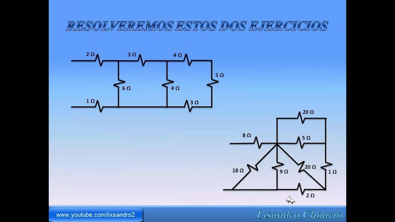 Circuito Not : Como resolver circuitos series y paralelo de resistencias