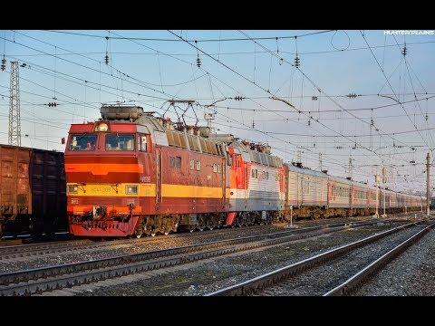 """Маршрут поезда №84 """"Северный Урал"""" (Москва - Приобье)"""
