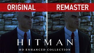 Hitman HD Enhanced Collection Comparison - Original vs. Remaster