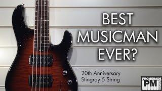 best music man bass ever 20th anniversary stingray 5 string demo