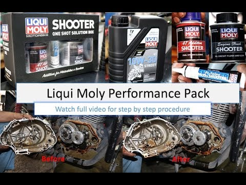 Liqui Moly Performance pack on CBZ Xtreme   Liqui Moly   CBZ Xtreme