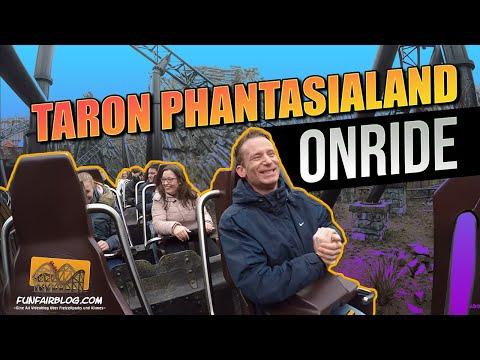Taron Phantasialand Onride | Funfair Blog [HD]