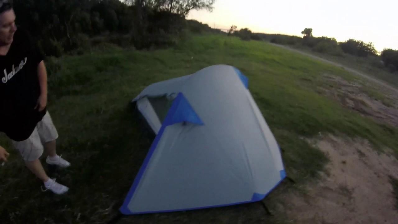 magellan outdoors kings peak backpacking tent review & magellan outdoors kings peak backpacking tent review - YouTube