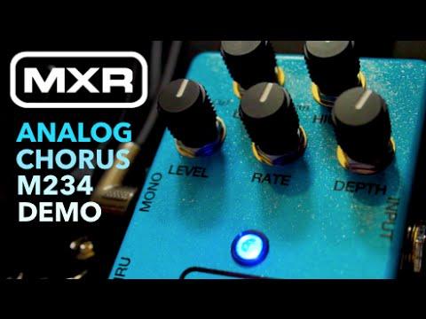 MXR M234 Analog Chorus Pedal | FULL DEMO