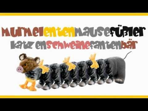 Kinderlieder deutsch | Murmelentenmausefüßlerkatzenschweinefantenbär