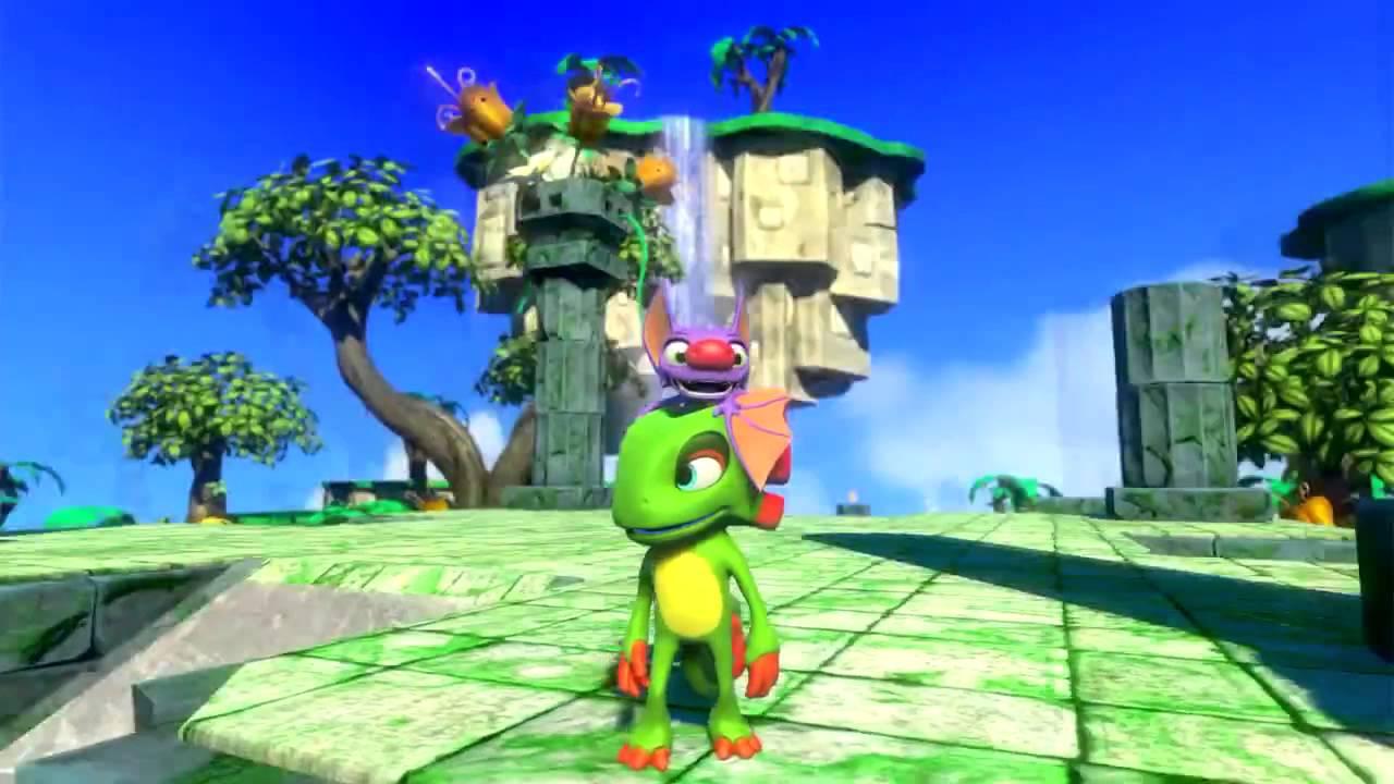Resultado de imagem para yooka laylee gameplay