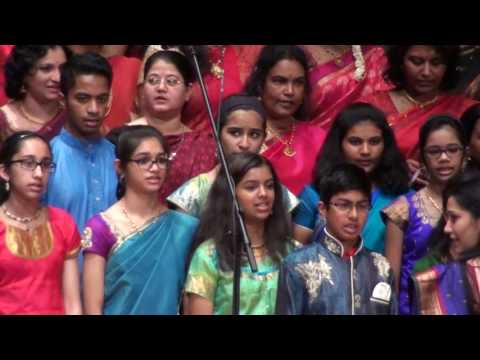 Cleveland Thyagaraja Aradhana Epic Choir 2017