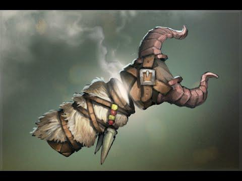 Открываем сокровищницs в Dota 2 Treasure of the Trapper Pelt