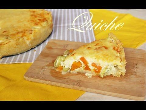 Quiche Kürbis/Lauch - vegetarisch, einfach und lecker