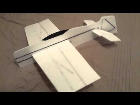 SuperSlo28 Build | R/C 3D Foamie plane