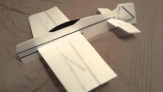 Superslo28 Build   R/c 3d Foamie Plane