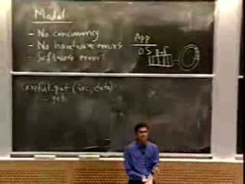 Lec 16 | MIT 6.033 Computer System Engineering, Spring 2005