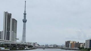 【4K】Tokyo Walk - Senju Bridge To Shirahige Bridge 千住大橋→白鬚橋 (May.2021|Sumida River #4)