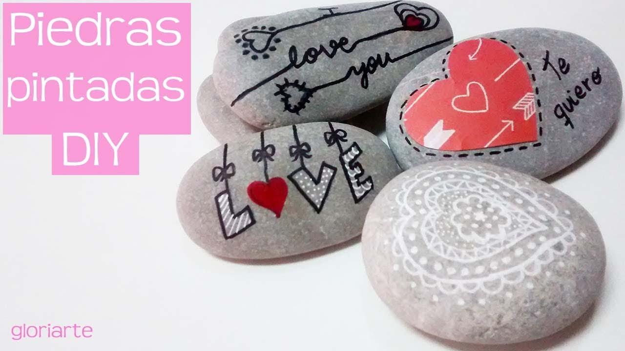 C mo decorar piedras muy f cil con rotulador quedan preciosas youtube - Decorar con piedra ...